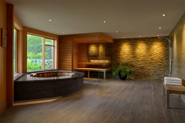 Stowe Vermont spa renovation