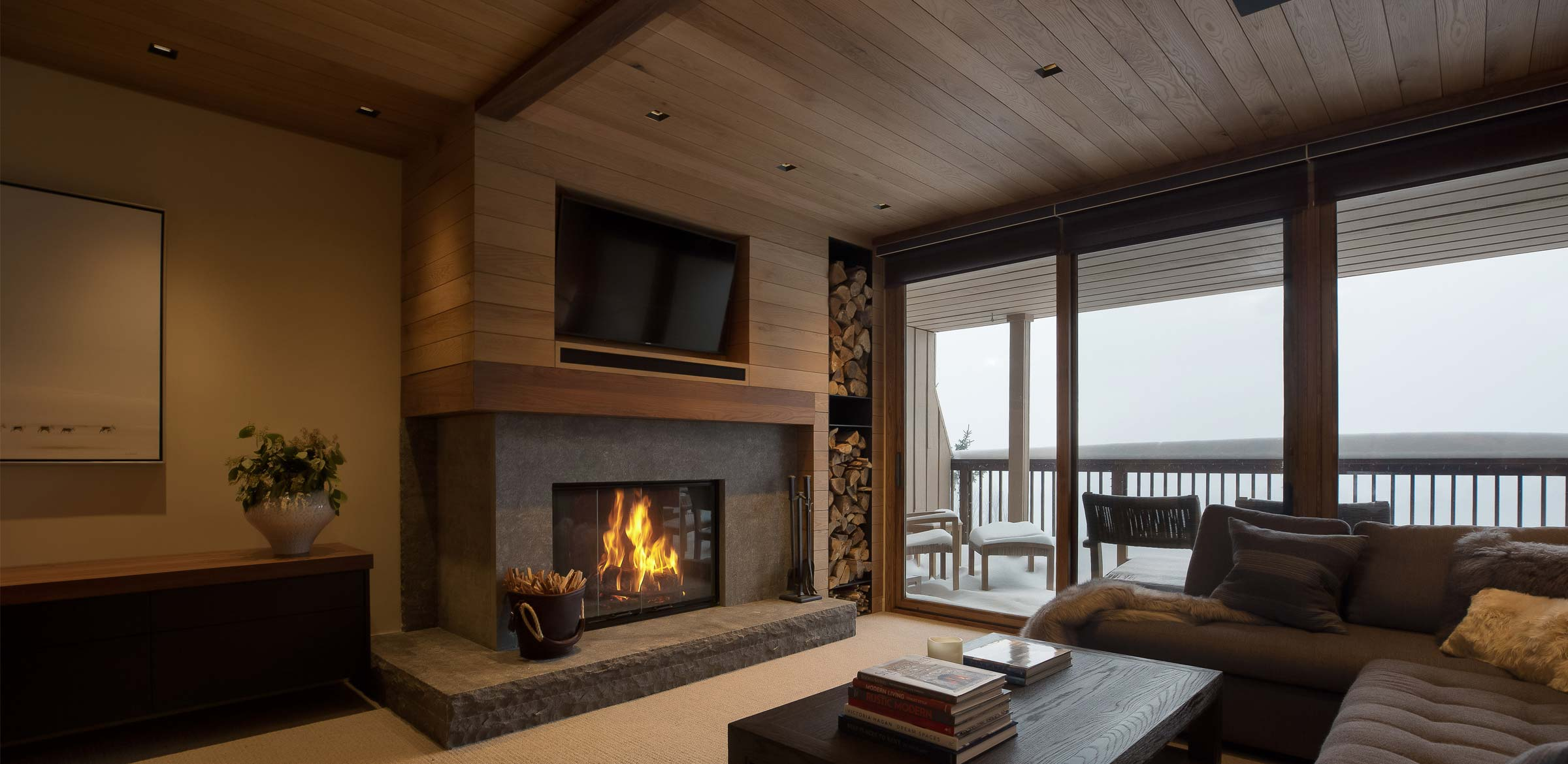 Ski Chalet Interior Design newschool builders • waitsfield, vermont • mountain ski chalet