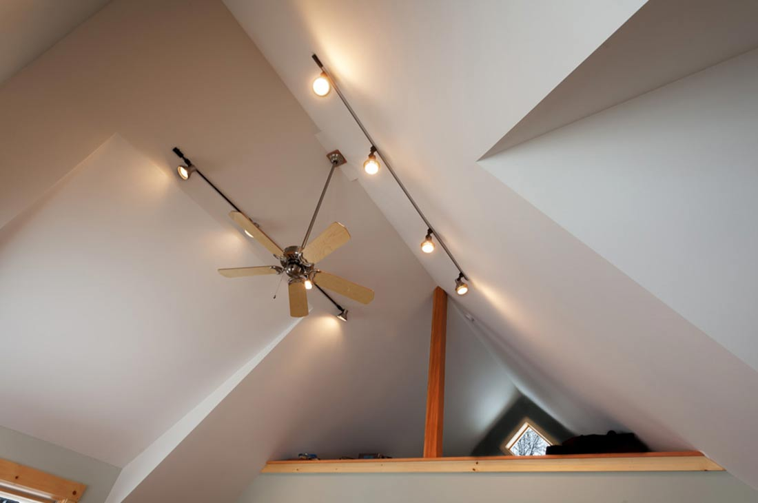 lighting in high ceilings and the loft