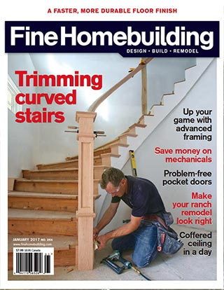 Newschool Builders on the cover of homebuilding magazine